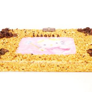 Gâteau noisette personnalisé 60cm x 40cm_D2