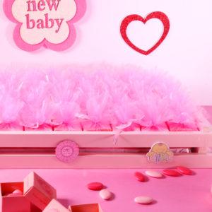 N3_plateau en bois rose_boite de dragée personnalisée